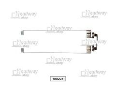 Петли для ноутбука IRBIS Mobile M53AA, б/у