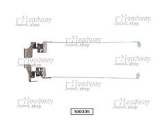 Петли для ноутбука Toshiba Satellite C660-14J, б/у