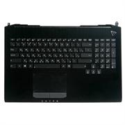 Клавиатура для ноутбука ASUS G750, G750JX, G750JW, G750JH, G750JM, топ-панель